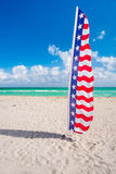 Miami Beach Flag Stock Images