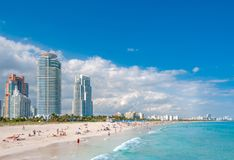 Miami Beach in Florida Lizenzfreie Stockbilder