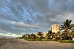 Miami Beach in Florida Royalty Free Stock Photos
