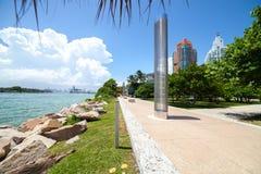 Miami Beach in Florida Fotografia Stock Libera da Diritti