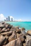 Miami Beach in Florida Immagine Stock