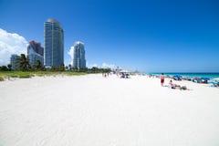 Miami Beach in Florida Immagini Stock Libere da Diritti