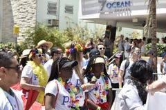 MIAMI BEACH, FLORIDA, APRIL 9, 2016 - Gay Pride Stock Image