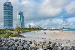 Miami Beach, Florida. royalty free stock image