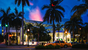 Miami Beach in Florida. USA Royalty Free Stock Photography