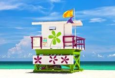 Miami Beach Florida, USA famous tropical travel location Royalty Free Stock Photo