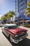 Miami Beach, Florida, USA. MIAMI - January 18: Art Deco Weekend festival in Miami Beach on January 18, 2014. Every January, Art Deco Weekend turns South Beach Royalty Free Stock Photography