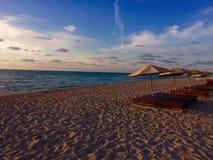 Miami Beach, Florida , USA. Beach , Relax , Ocean Royalty Free Stock Image