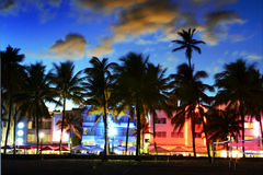 Miami beach, Floride USA Royalty Free Stock Photos