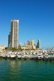 Miami Beach harbor Royalty Free Stock Images