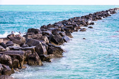 Miami Beach hav Arkivbild