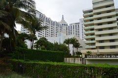Miami Beach-Hochaufstiege, Florida Stockbild