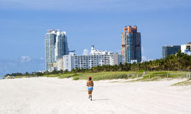 Miami beach hotels Royalty Free Stock Photo