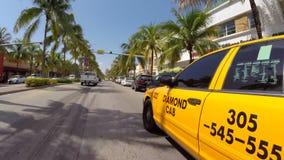 Miami Beach hyperlapse stock footage