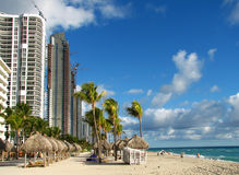 Miami Beach im Winter Stockfoto