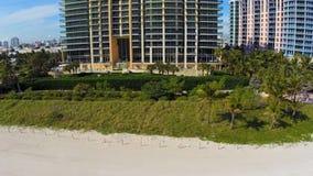 Miami Beach-Kondominium stock video footage