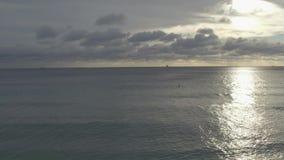 Miami Beach kustlinje lager videofilmer