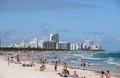 Miami Beach, la Florida Imágenes de archivo libres de regalías