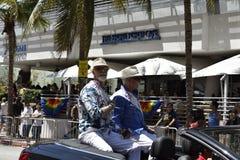 MIAMI BEACH, la FLORIDA, el 9 de abril de 2016 - orgullo gay imagenes de archivo