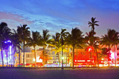 Miami Beach, la Florida, los E Fotografía de archivo