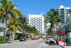 Miami Beach, la Floride photo stock