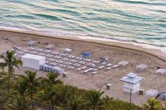Miami Beach, la Floride Photos stock