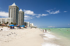 Miami Beach la Floride Images libres de droits