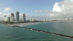 Miami Beach la Floride banque de vidéos