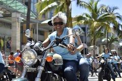 MIAMI BEACH, la FLORIDE, le 9 avril 2016 - fierté gaie photos stock