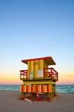 Miami Beach lifeguard house Stock Image