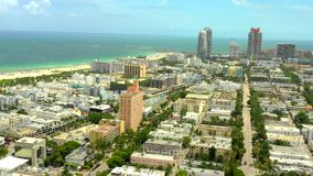 Miami Beach-Luftbrummenvideo 2019 stock video footage