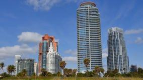 Miami Beach luxury condominiums 4k video stock footage