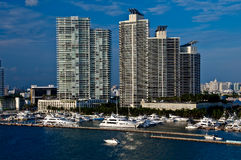 Miami Beach Marina Stock Photo