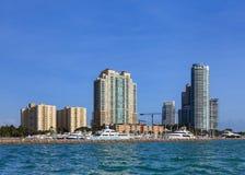 Miami Beach Marina Stock Images