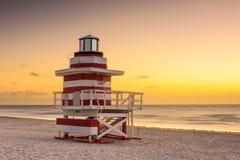 Miami Beach Morning Stock Photos