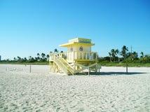 Miami Beach no inverno Fotos de Stock Royalty Free