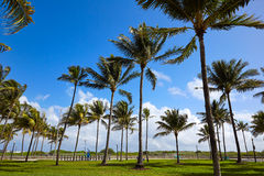 Miami Beach Ocean boulevard Art Deco Florida Stock Image