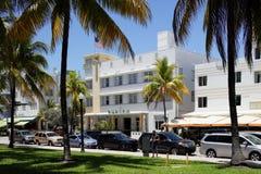 Miami Beach Ocean Drive 50mp Royalty Free Stock Image