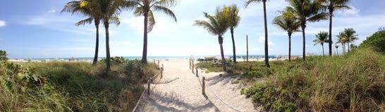 Miami Beach panorama Stock Photography