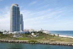 Miami Beach Park Royalty Free Stock Photography