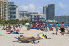 Miami Beach Royalty Free Stock Photography