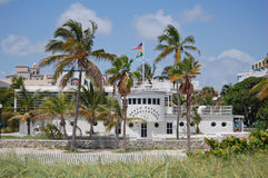 Miami Beach Rescue HQ Stock Images