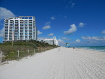 Miami Beach Resort Royalty Free Stock Photo