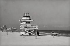Miami beach rocznik zdjęcia royalty free