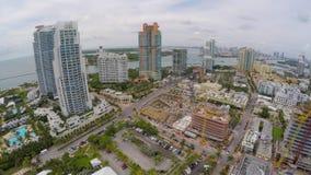 Miami Beach südlich der 5. Straße 4k stock video footage