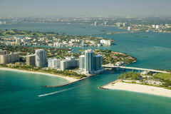 Miami seashores Royalty Free Stock Image