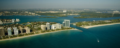 Miami seashores Royalty Free Stock Images