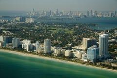 Miami shores Royalty Free Stock Photo
