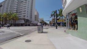Miami Beach skating pov Stock Photos