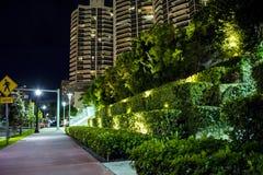 Miami Beach Skyscrapers Stock Images